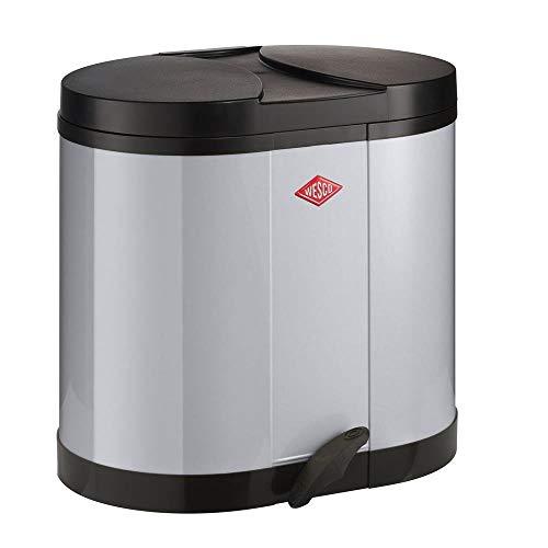 Wesco Eco-verzamelaar 170-2 x 15 liter grijs