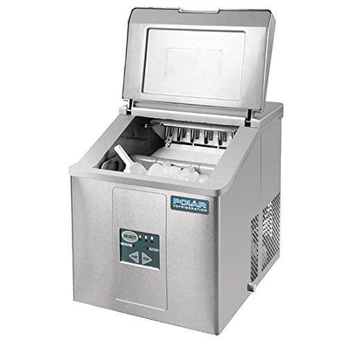 POLAR Serie C ijsblokjesmachine, tafelapparaat, 17 kg