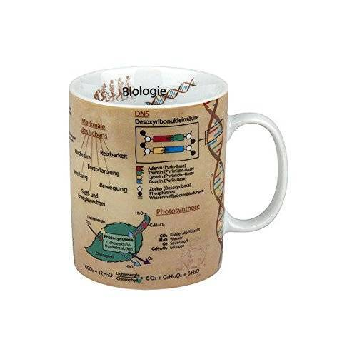 Könitz Kennisbeker Biologie, porselein, 1 verpakking