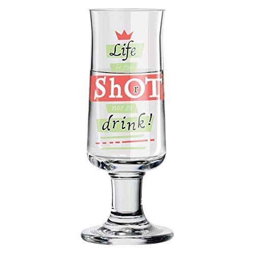 Ritzenhoff Schnapsglas, glas, meerkleurig, 3,8 cm