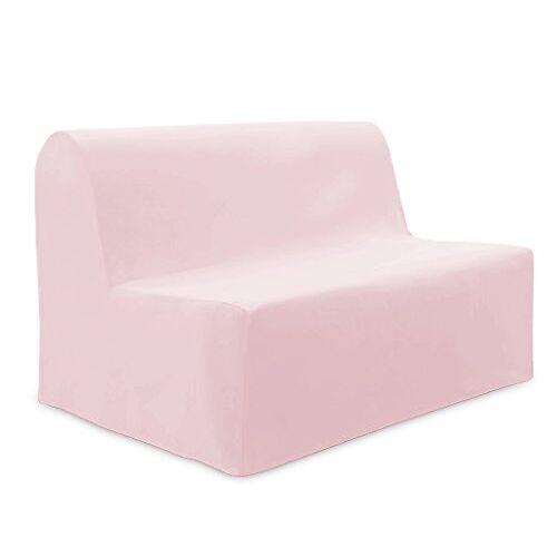 Soleil d'ocre Overtrek voor bankbed van katoen Panama roze
