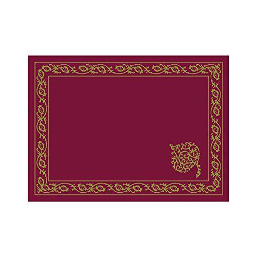 Garcia de Pou Tafelmatten Persico, Cellulose, Bourgondië, 31x43 CM