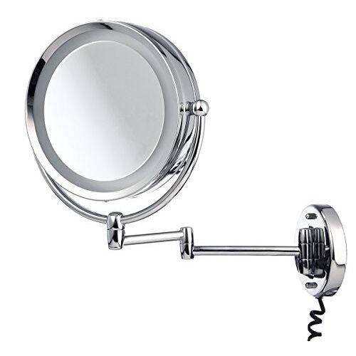 MOVE bewegen Spiegel, Zilver, Ø 22 cm