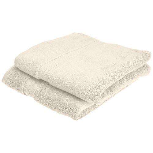 Pinzon Pima katoenen handdoekenset (2 handdoeken) ivoor