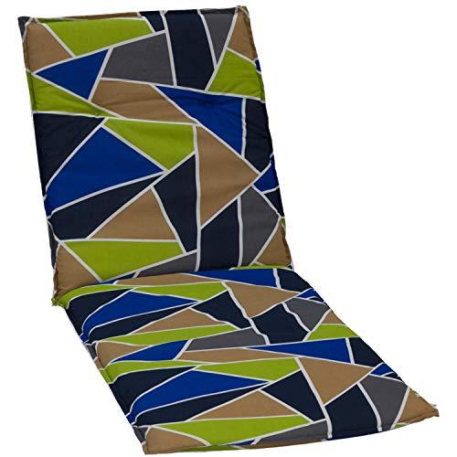 Beo Tuinstoelkussens zoomsteun voor rolstoelen grafisch design, ca. 190 x 58 x 6 cm, meerkleurig