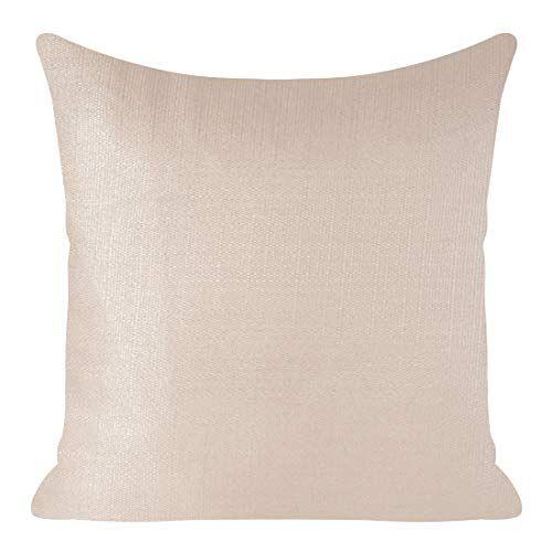 Eurofirany kussenslopen kussenslopen glinsterende oplichtend sofakussenslopen sofakussenslopen decoratiekussen dubbelverpakking set kussenslopen decokussen, roze + zilver, 45x45cm