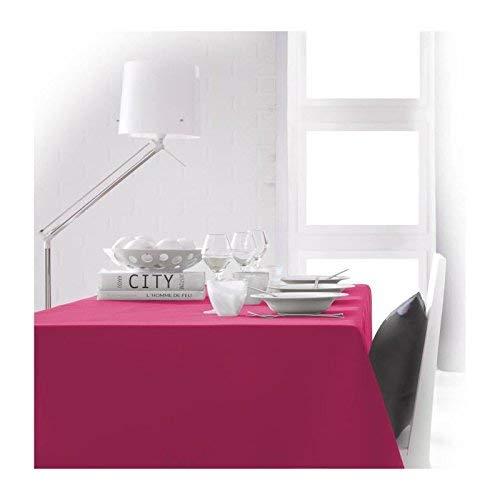 TODAY 256402 Polyester Tafelkleed 150 x 250cm, polyester, Jus de Myrtille/Fuchsia, 150x250 cm