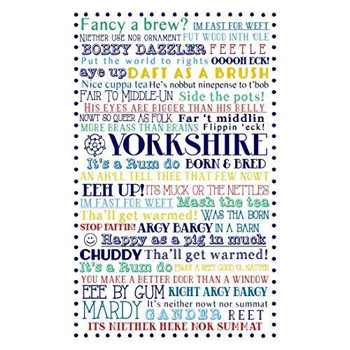 Ulster Weavers Yorkshire 73,9 x 48 cm geboren en gekweekte katoen theedoek