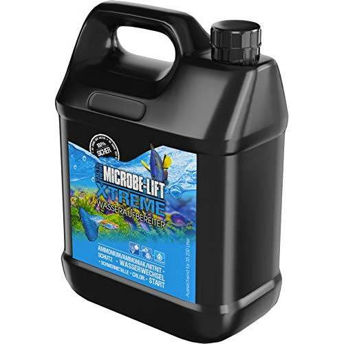 MICROBE-LIFT Xtreme Waterzuiverer voor visvriendelijk aquariumwater, neutraliseert schadelijke stoffen in leidingwater,