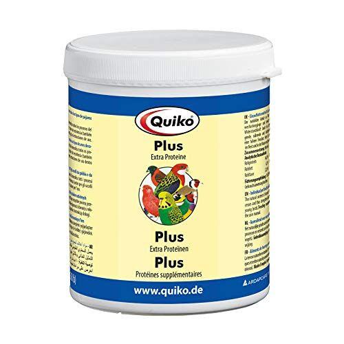 Quiko Plus 400 g extra eiwitten voor jonge vogels, siervogels, brieven en kippen
