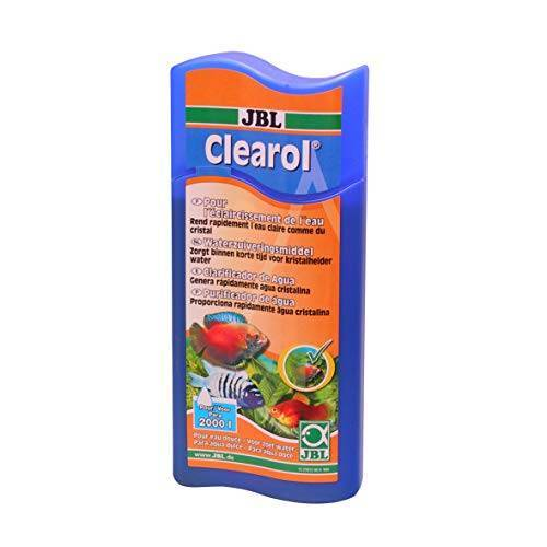JBL Clearol Waterbehandelingsmiddel voor aquaria, 100 ml voor 400 liter