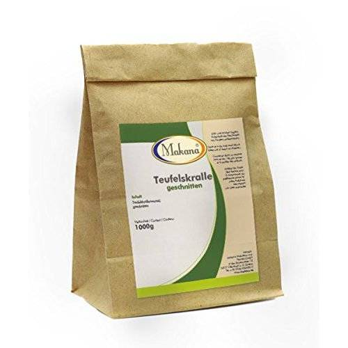 Makana Duivelsklauw, gesneden, 1 kg papieren zak (1 x 1 kg)
