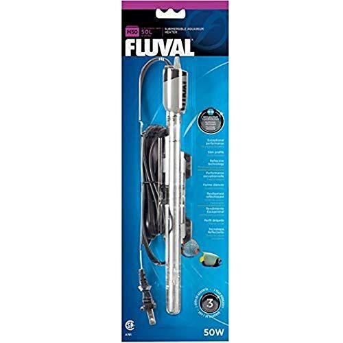 Fluval M Aquariumverwarming, 50 Watt, 50 l, metallic