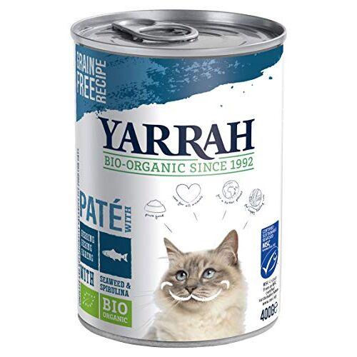 Yarrah biologische kattenvoer peetvader met vis 400 g, 12 stuks (12 x 400 g)