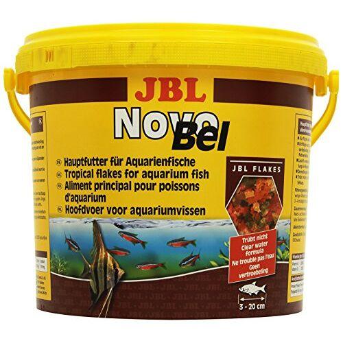 JBL NovoBel 30154 Complete voeding voor alle aquariumvissen, vlokken 5,5 l
