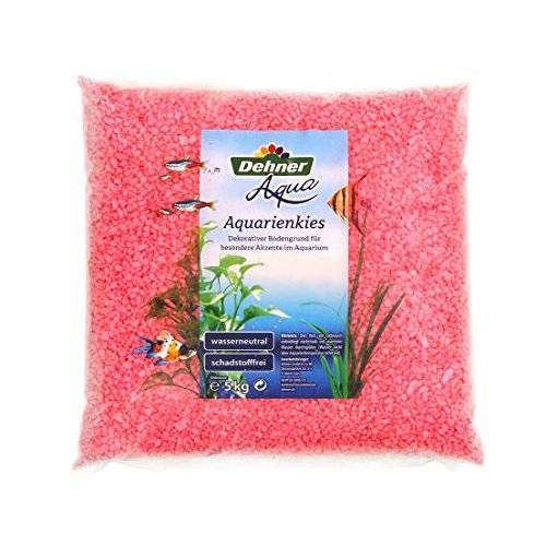Dehner Aqua aquariums, korrel 4-6 mm, 5 kg, roze
