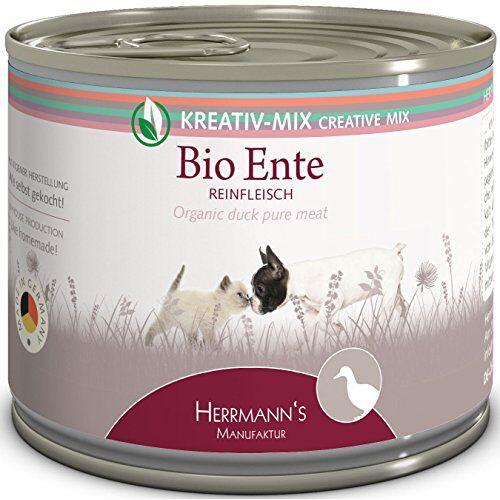 Herrmann's Herrmanns Bio Eend 100 procent, verpakking van 12 (12 x 200 g)