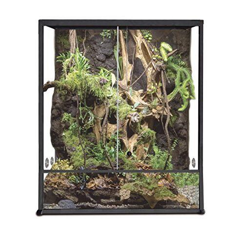 Reptiles Planet Aluminium Elegance Terrarium voor reptielen/# 304 30 x 30 x 45 zwart