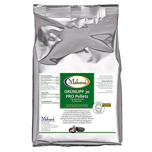 Makana Grünlipp 30 PRO pellets, voor de gewrichten, 1000 g zak (1 x 1 kg)
