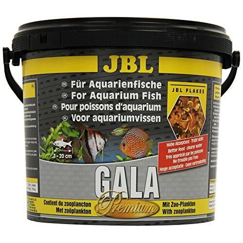 JBL Gala 40433 Premium complete voeding voor aquariumvissen, vlokken 5,5 l