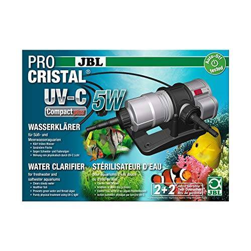 JBL ProCristal UV-C Compact Plus waterbehandeling voor aquaria, 5 W