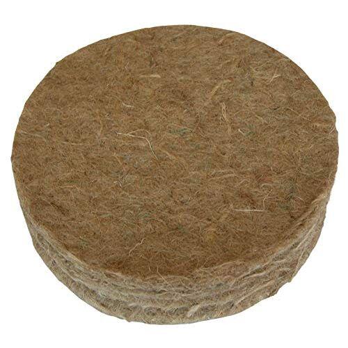 Supa Jute Canarische Nestvilt, maat 5 inch, 10 stuks