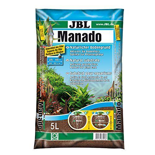 JBL natuurlijke bodem met voedingsstoffenopslag, rijk aan ijzer, 5 l, manado.