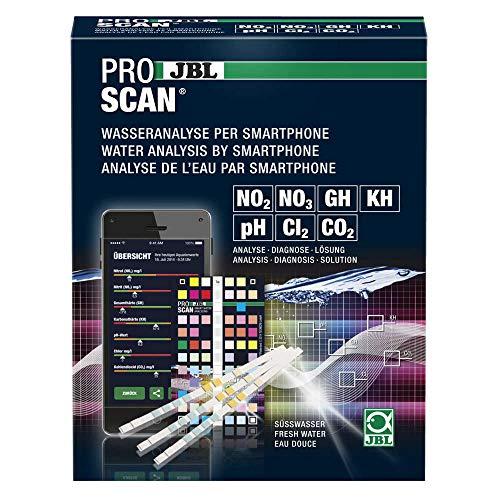 JBL Watertest Met Smartphoneanalyse Voor Zoetwateraquaria,  Proscan 25420, Testset, 12 x 5 x 15 cm