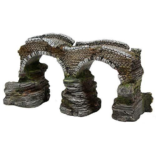 Wave Romeinse brug, 25 x 13 x 13 cm