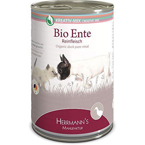 Herrmann's Herrmanns Bio Eend 100 procent, verpakking van 12 (12 x 400 g)