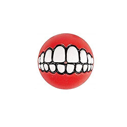 Rogz GR04-C Grinz bal/speelgoed, L, rood