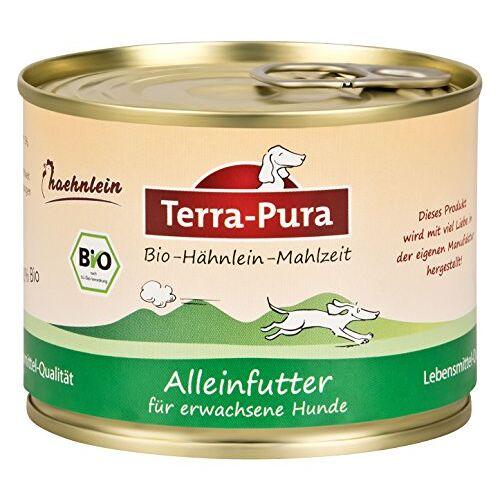 Terra Pura Biologische hondenvoer kippenlijn, 24 stuks (24 x 200 g)