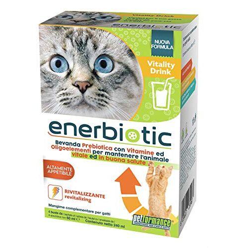 PETFORMANCE BENESSERE PER CANI E GATTI PETFORMANCE BENESSEN voor honden en katten Vitality Drink-Bevanda Energizzante Prebiotica (6 monodoos 60 ml) 1 doos