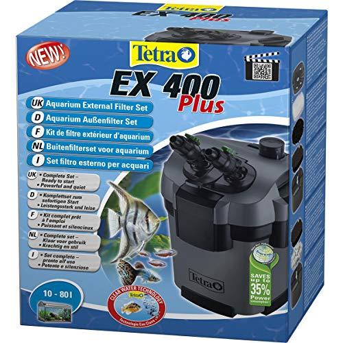 Tetra Aquarien EX 400 Plus Buitenfilter Set voor Aquarium, 10-80 l, Zwart