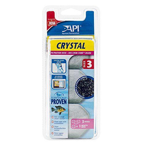 API Apl accessoires voor aquaria, doos kristal, 3 stuks