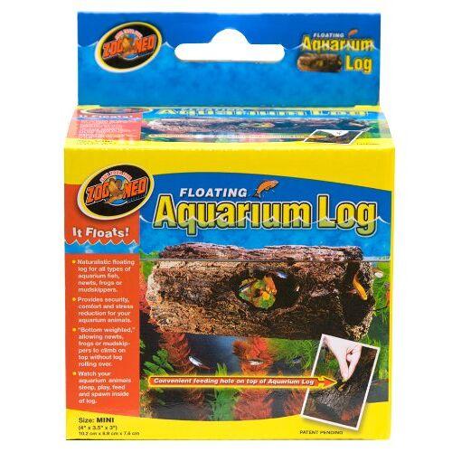Zoo Med FA-5 Floating Aquarium Log, drijvende verstopplaats voor vissen en amfibieën
