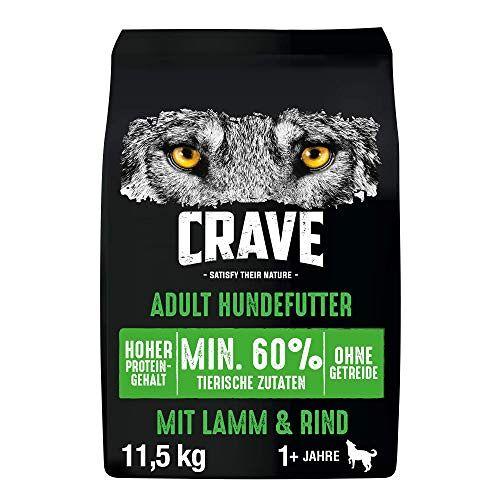 CRAVE Hond Droog Lam & Rundvlees 11,5 kg