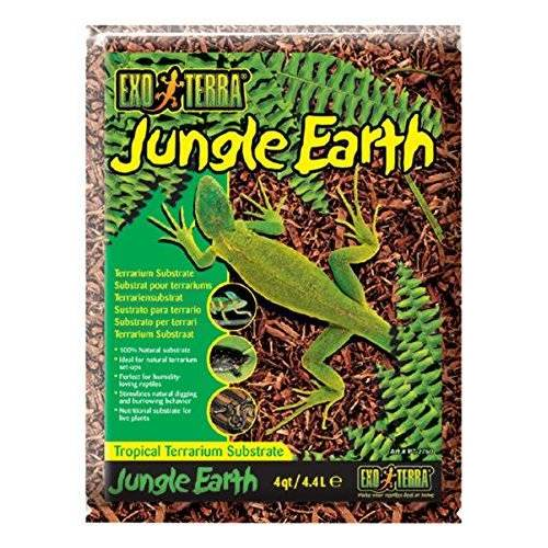 Exo Terra Jungle Earth Substraat 4,4 L