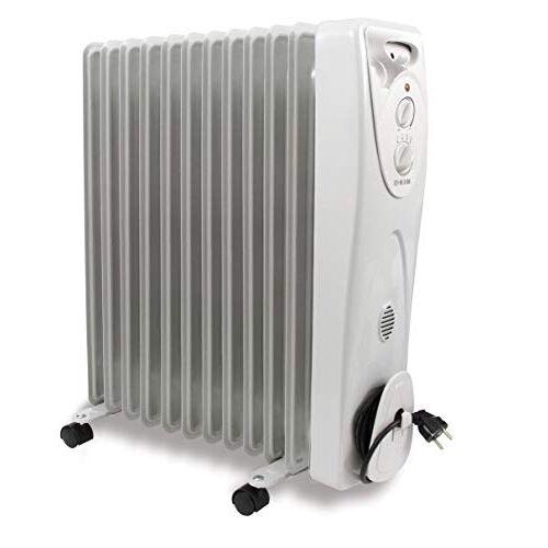 hjm 824 Olieverwarmer, 2500 W, wit