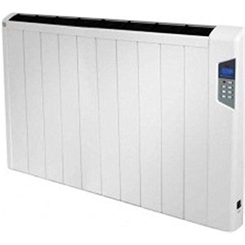 FM Verwarming crono-slim 1500 Vloer, muur 1500 W Wit Radiator – Verwarming (Radiator, Wit, Knopen, 230 V, 50 Hz, 871 mm)