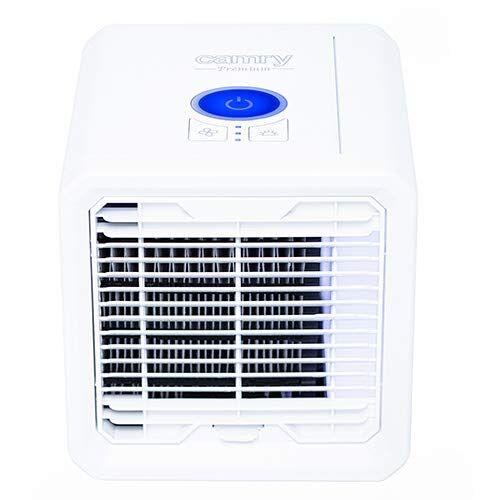 Camry CR-7321 ventilator luchtbevochtiger compact via USB, LED-verlichting, stil, wit