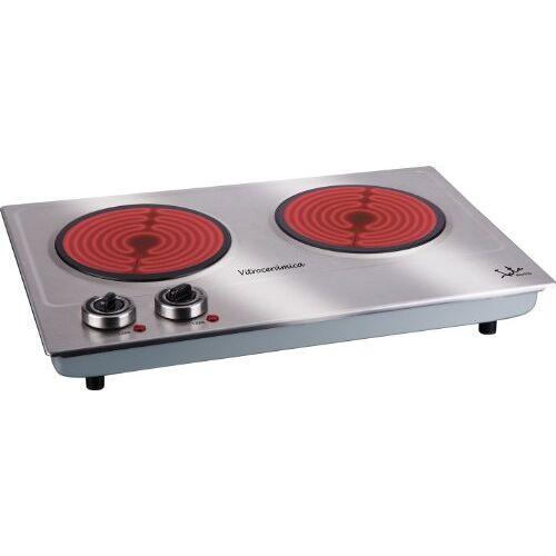 Jata V532 keramische kookplaat, 2 kookplaten, 1200 W