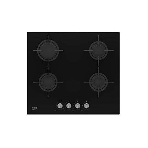 Beko HILG 64220 S ingebouwde gas zwart kookplaat