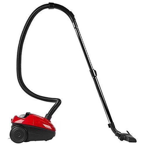 Medion MD 17971 Stofzuiger, 700 watt vermogen, 5 m kabel, 1 5 l zak, borstels voor verschillende vloerbedekkingen, zwart