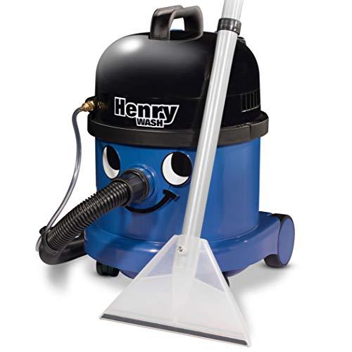 Numatic International Henry Wash HVW370-2, waszuiger, donkerblauw, 1060 W, 79 decibel