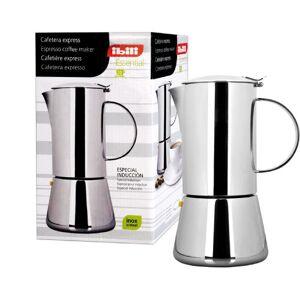 IBILI Essential 620310 koffiemaker Express voor 10 kopjes, roestvrij staal, 18/10