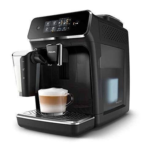Philips EP2231 Espressomachine, 1500 W, waterreservoir, 1,8 l, 15 bar, 12 instellingen, 3 temperatuurniveaus, 0,26 l