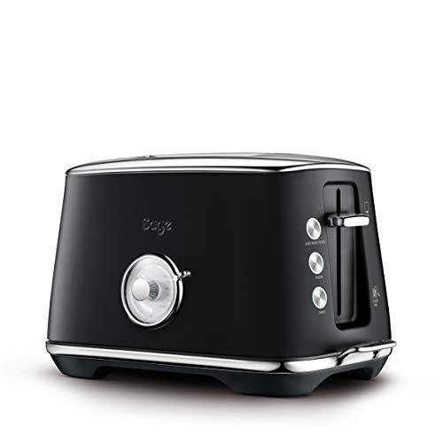 Sage Appliances SAGE STA735 the Toast Select Luxe, Broodrooster, Black Truffle