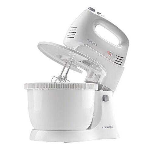 CONCEPT Hausgeräte CONCEPT huishoudelijke apparaten handmixer Met kom. wit
