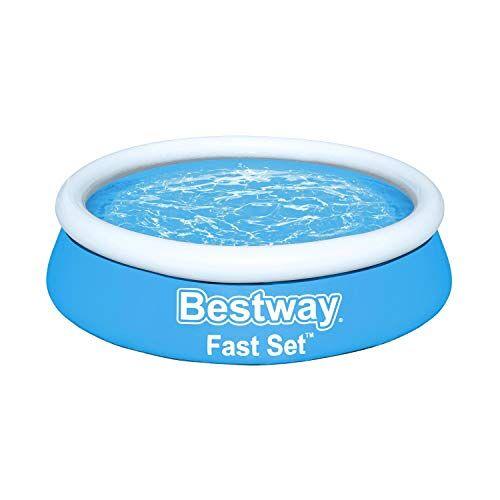Bestway Fast Set zwembad, 183 x 51 cm, zonder pomp, rond, blauw
